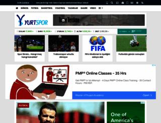 yurtspor.com screenshot