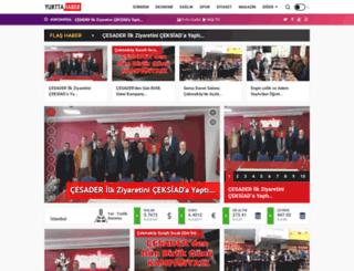 yurttahaber.com.tr screenshot