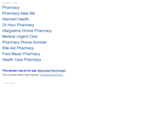 yusonpharmacy.com screenshot