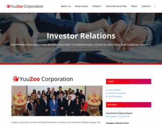 yuucorp.com screenshot