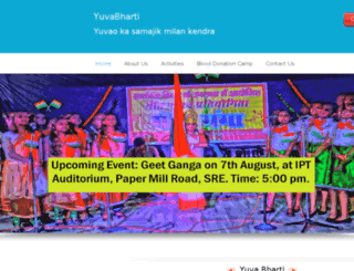 yuvabharti.com screenshot