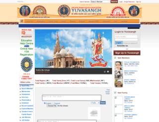 yuvasangh.org screenshot