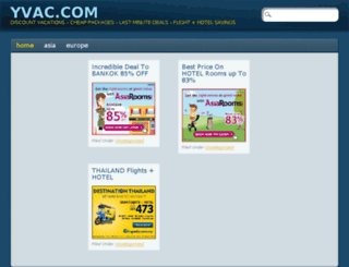 yvac.com screenshot