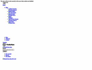 yvolution.com screenshot