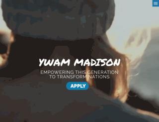 ywammadison.org screenshot