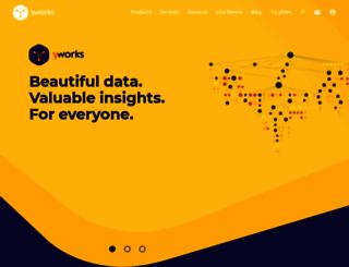 yworks.com screenshot