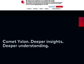 yxlon.com screenshot