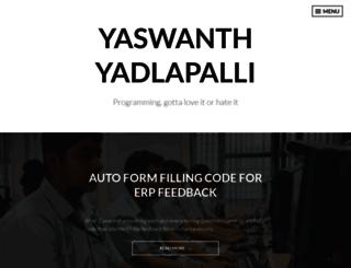 yyadla.wordpress.com screenshot