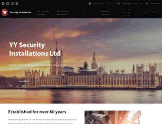 yysecurity.co.uk screenshot