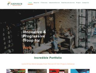 yzentech.com screenshot