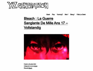 yzgeneration.com screenshot