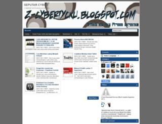 z-cybertycku.blogspot.com screenshot