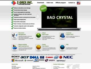 z-drex.com screenshot
