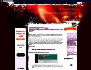 z-tricks.blogspot.fr screenshot