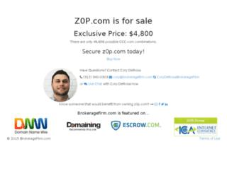 z0p.com screenshot