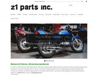 z1parts.net screenshot