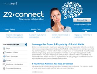 z2connect.com screenshot