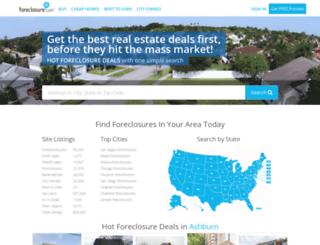 z57.foreclosure.com screenshot