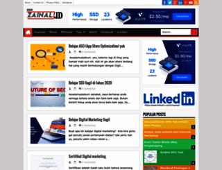 za-enal.blogspot.com screenshot