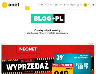 za-plecami.blog.pl screenshot