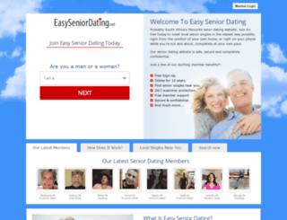 za.easyseniordating.net screenshot