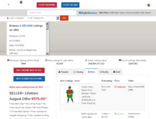 za.ebid.net screenshot