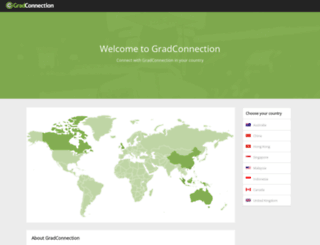 za.gradconnection.com screenshot