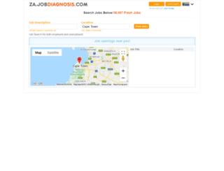 za.jobdiagnosis.com screenshot