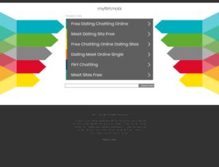 za.myflirt.mobi screenshot