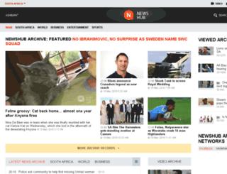 za.newshub.org screenshot