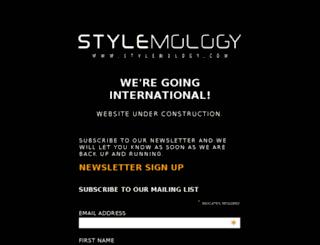 za.stylemology.com screenshot