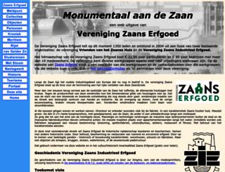 zaans-industrieel-erfgoed.nl screenshot