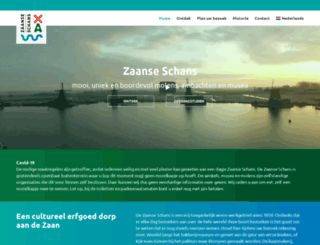 zaanseschans.nl screenshot