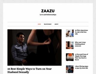 zaazu.com screenshot
