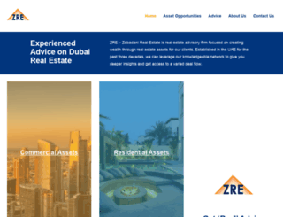 zabadanirealty.com screenshot