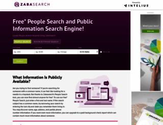 zabasearch.com screenshot