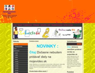 zabavtesask.717.cz screenshot