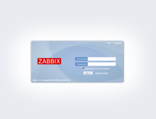 zabbix.gootickets.com screenshot