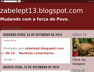 zabelept.blogspot.com.br screenshot