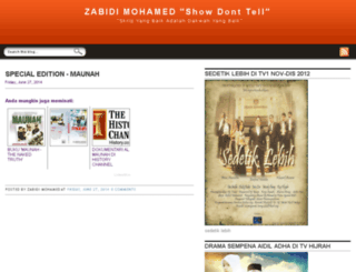 zabidiskrip.blogspot.com screenshot
