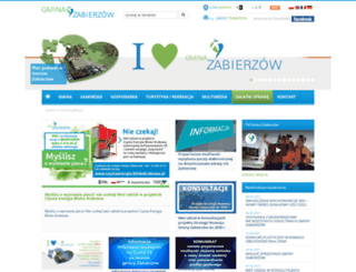 zabierzow.org.pl screenshot