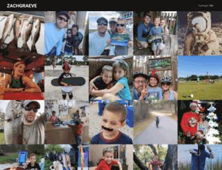zachgraeve.com screenshot