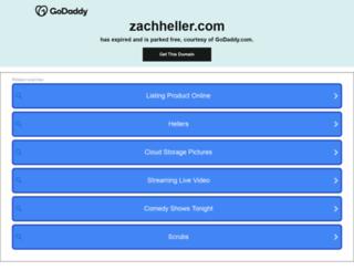 zachheller.com screenshot