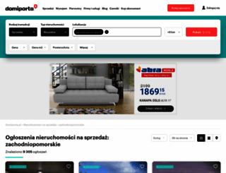 zachodniopomorskie.domiporta.pl screenshot