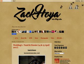 zack-hoya.blogspot.com screenshot