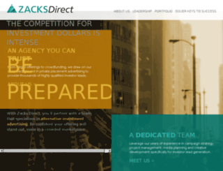 zacksdirect.com screenshot