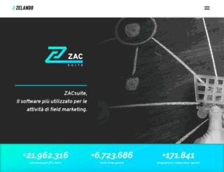 zacweb.it screenshot