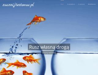 zacznijtestowac.pl screenshot