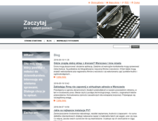 zaczytaj.webnode.com screenshot