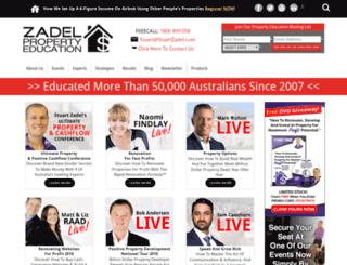zadel.com screenshot